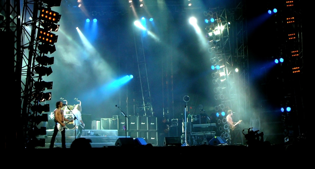 Def Leppard at Sweden Rock 2008