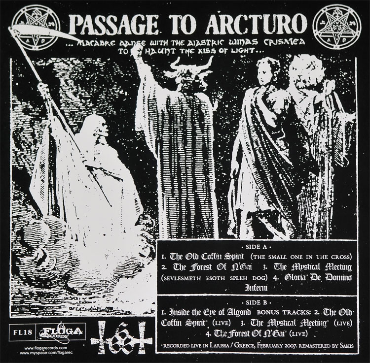ROTTING CHRIST Passage to Arcturo Back NIGHTFALL: Recuerdo de Un Pasado De Gloria!