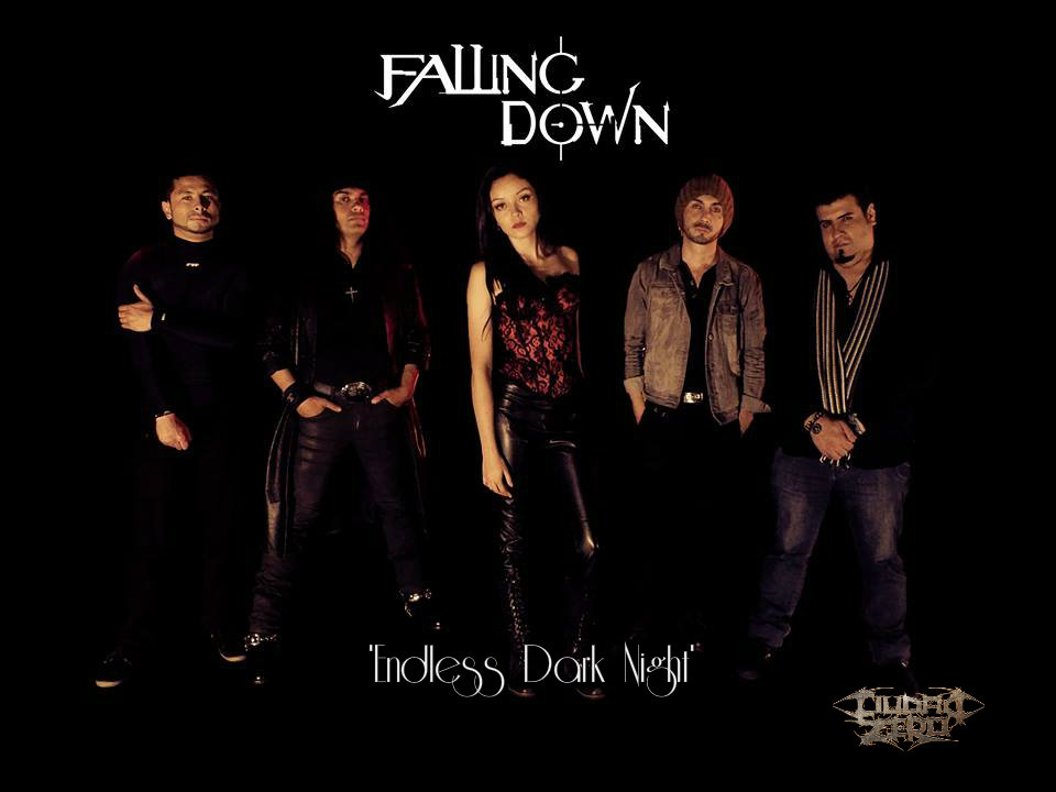 Falling Down Band FALLING DOWN: Endless Dark Night (Official Lyric Video)