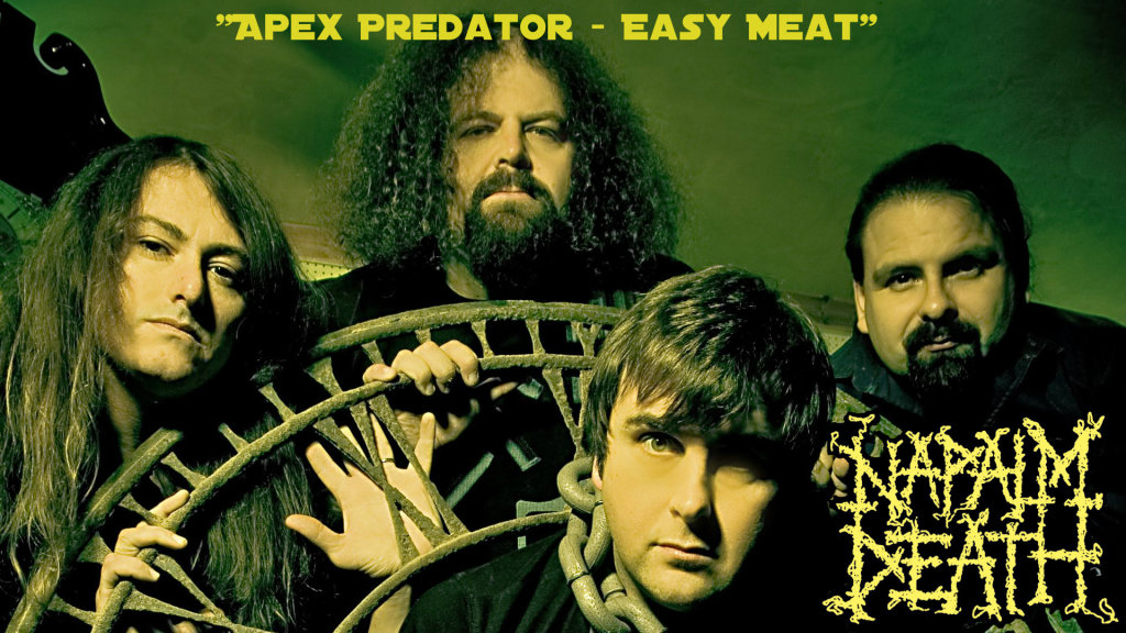 napalm-death-Apex Predator - Easy Meat-review