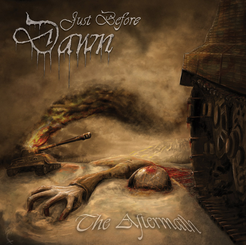 The Aftermath cover 11 JUST BEFORE DAWN: Precis Innan Gryningen & The Aftermath, Monumental Epic Death Metal Sueco!