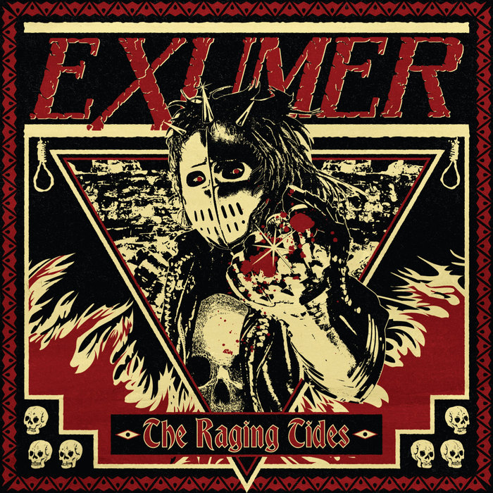 physical1 EXUMER: The Raging Tides, Thrash Metal Transparente e Implacable.