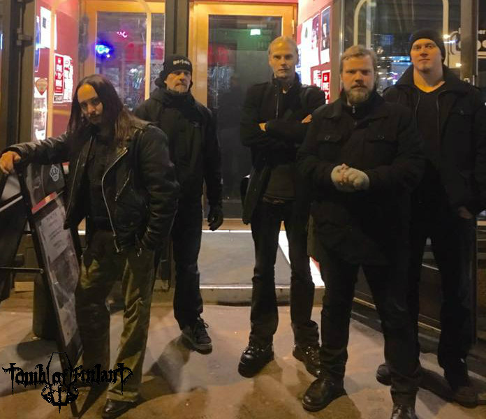 Tomb of Finland band TOMB OF FINLAND: Below The Green And Over The Black!...