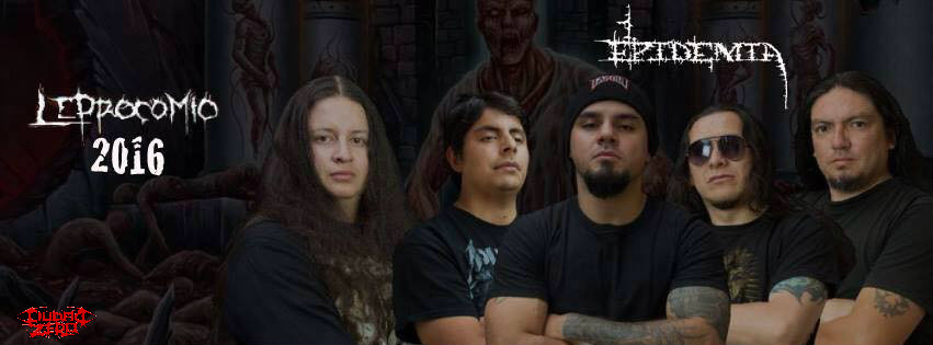 Detail from Epidemia New Album Leprocomio 3 EPIDEMIA: Leprocomio Pure Ecuadorian Death Metal!