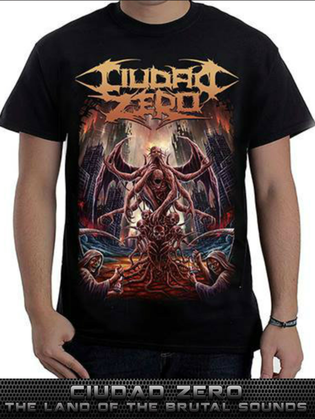 Ciudad Zero - Land Of Brutal Sounds - Front