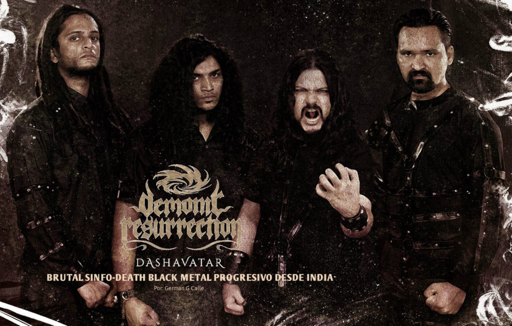 DEMONIC RESURRECTION DASHAVATAR 1024x653 DEMONIC RESURRECTION : DASHAVATAR, BRUTAL SINFO DEATH BLACK METAL PROGRESIVO DESDE INDIA
