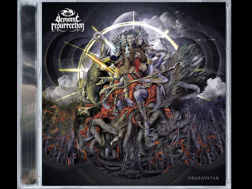 0009387594 10 1024x768 DEMONIC RESURRECTION : DASHAVATAR, BRUTAL SINFO DEATH BLACK METAL PROGRESIVO DESDE INDIA