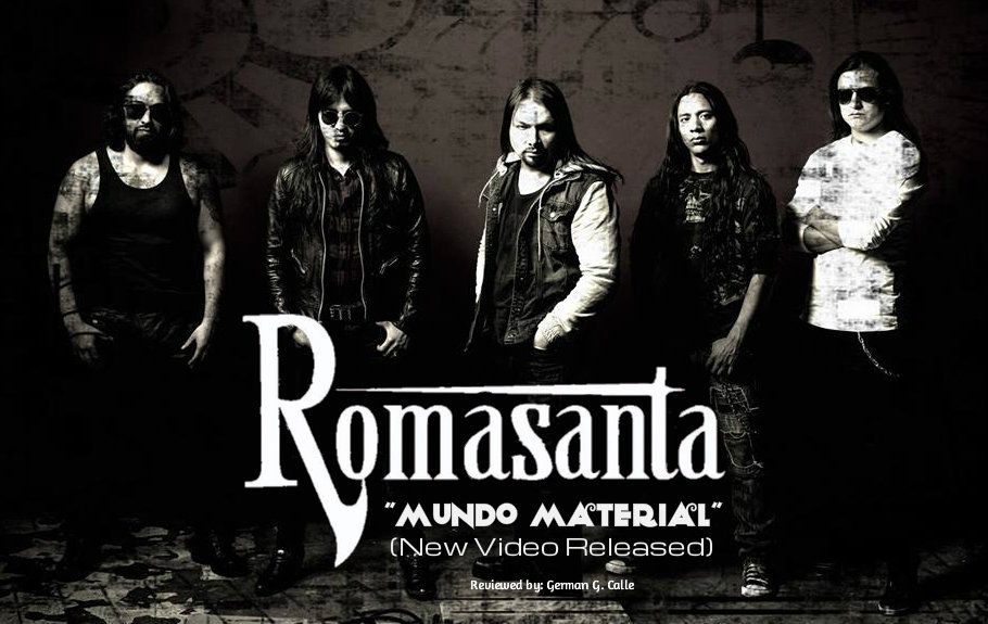 ROMASANTA Cover ROMASANTA   MUNDO MATERIAL (New Video Released).