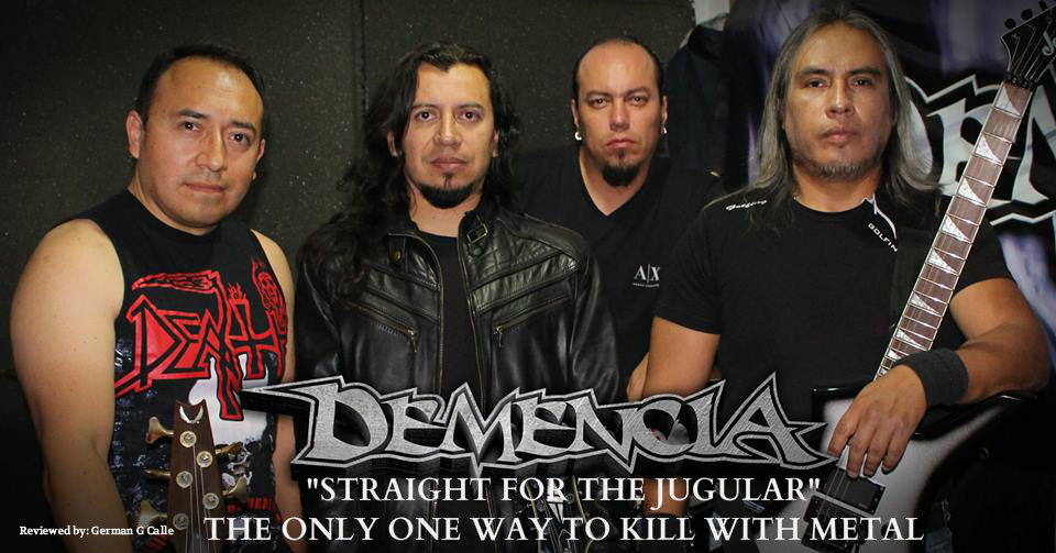 Demencia band 2017 review 1 DEMENCIA: Straight for the jugular is the only one way to kill with metal.