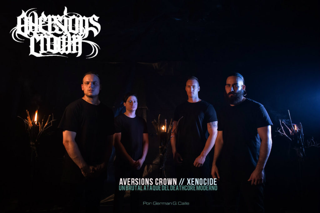 AVERSIONS CROWN XENOCIDE critica 1024x683 AVERSIONS CROWN: XENOCIDE UN BRUTAL ATAQUE DEL DEATHCORE MODERNO.