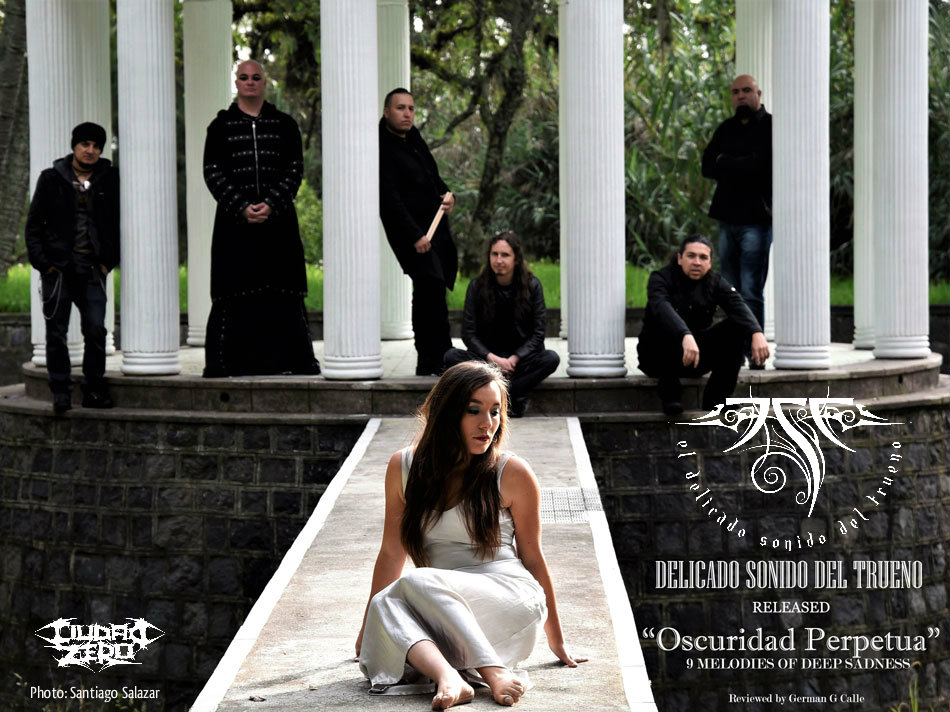 DST Review DELICADO SONIDO DEL TRUENO: Released Oscuridad Perpetua, 9 Melodies of Deep Sadness.