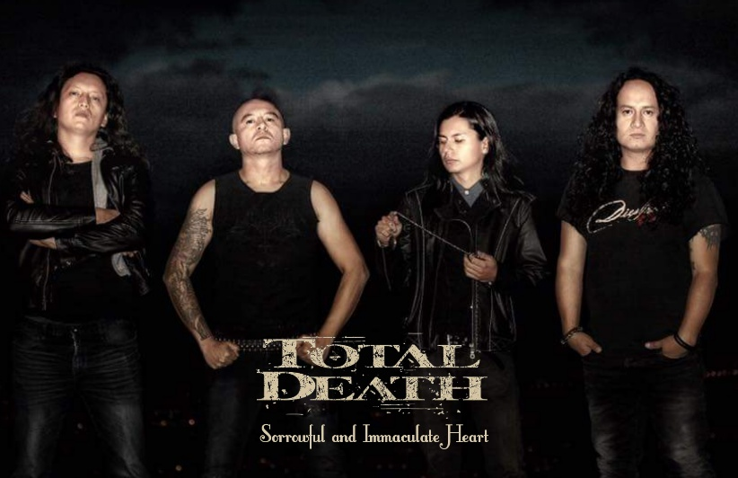 20171006 085750 20180717225111827 TOTAL DEATH: SORROWFUL AND IMMACULATE HEART, A WORK THAT ACHIEVES THE TOP OF CREATIVITY OF THIS TALENTED BAND.