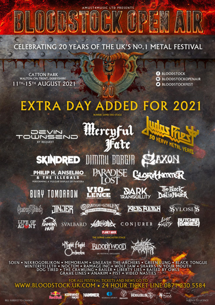 BLOODSTOCK OPEN AIR 2021 1 724x1024 Posters