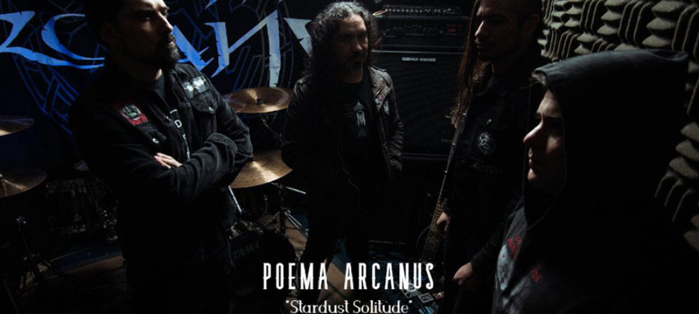 "POEMA ARCANVS: ""Stardust Solitude"" The Return of The South American Death Doom Metal Masters"